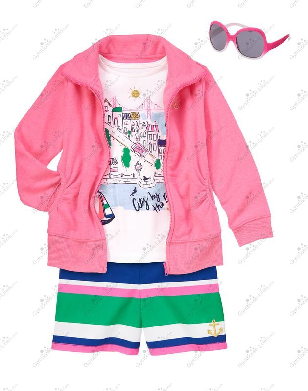 e8130cc8a Gymboree Stylish by the Bay Outfit (Girl - Kid) - Gymboree Lines