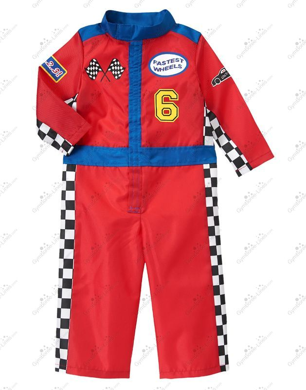 2014 Gymboree Racecar Driver Costume Boy Baby Toddler Unknown