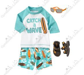 49ea4a32d6 Gymboree Junior Wave Catcher Outfit (Boy – Baby/Toddler) - Gymboree ...