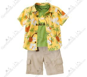 NWT Gymboree Boy shorts Elastic Waist Shorts Easy on Island Hopper many sizes