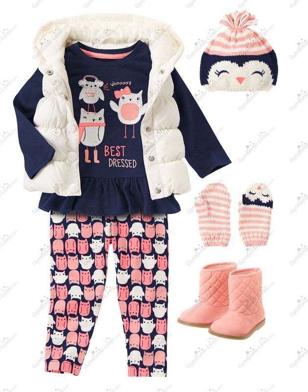 13f23850802e5 Gymboree Look Whooo's Cozy Outfit (Girl – Baby/Toddler) - Gymboree Lines