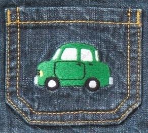NWT Gymboree AUTO BABY Khaki Embroidered Car Canvas Pants