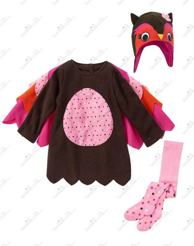 Gymboree Girls Owl Fleece Dress 2T NWT $39.95