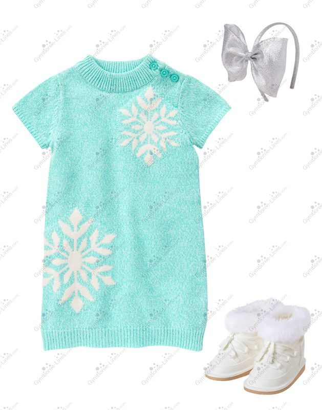 4fa4b07de1c Crazy 8 Little Snowflake Outfit (Girl – Baby Toddler) - Gymboree Lines