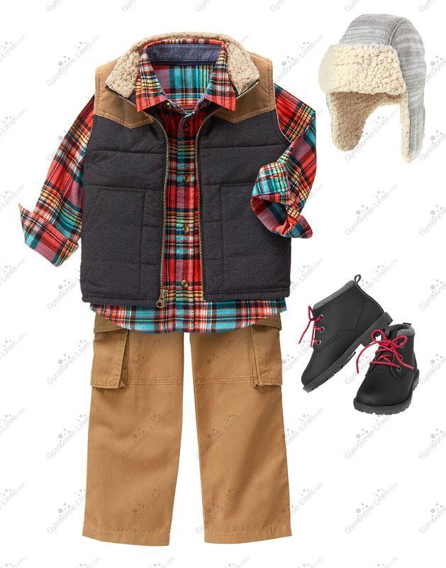 5e5c4430 Crazy 8 Little Lumberjack Outfit (Unknown Boy) - Gymboree Lines