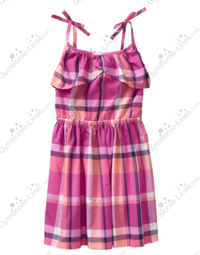NWT Gymboree Sunny Adventure Girls Summer Pink Watermelon Dress 2t