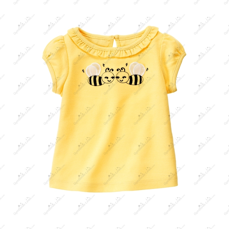 Gymboree Girls Tee /& Shorts Yellow Sunglasses Outfit NWT 4 5 6