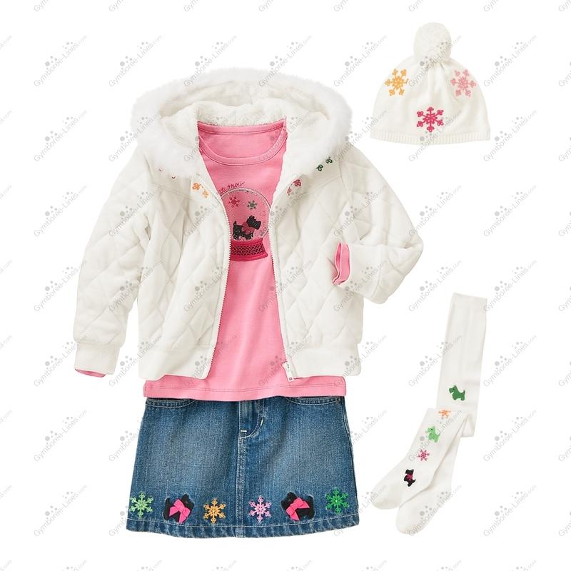b606003cda7 Gymboree Sweet Snowflakes Outfit (Girl - Kid) - Gymboree Lines