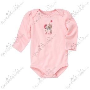 NWT Gymboree Preemie 6-12 Monkey Zebra Girl/'s Pink Bodysuits Short Sleeve